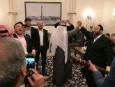 """فيديو .. ماهي رقصة """"الحانوكة"""" التي أدّاها حكام البحرين مع وفد صهيوني؟"""