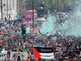 الأكبر في تاريخ دعم فلسطين... تظاهرة حاشدة في لندن