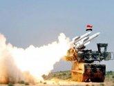 صاروخ سوري يلاحق طائرة للاحتلال ويسمع دويه في أرجاء لبنان