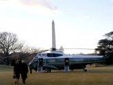 ترامب يغادر واشنطن قبل بدء حفل تنصيب بايدن
