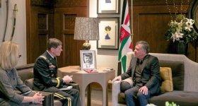 العاهل الأردني يلتقي منسق التحالف الدولي ...