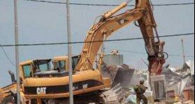 قوات الاحتلال تهدم منزلا في القدس