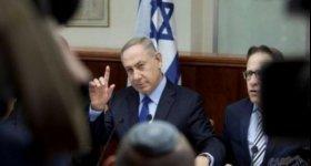 """نتنياهو يتوعد :""""كل من يرفع رأسه ..."""