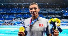 السباح التونسي أيوب الحفناوي يمنح العرب الذهبية الأولى في أولمبياد طوك ...