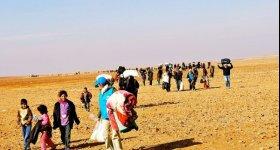 مسارات الموت للاجئين سوريين في صحراء ...