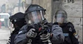 """""""هآرتس"""": الشرطة قمعت المتظاهرين في القدس ..."""