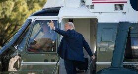ترمب سيغادر واشنطن قبل تنصيب بايدن.. ...