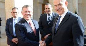العاهل الأردني يرحب بتعهدات نتنياهو حول ...