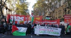 مسيرات ووقفات في الأرجنتين والبرازيل تضامنا ...